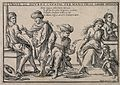 Arabian doctors perform bleeding on poor Italian people; mon Wellcome V0011955.jpg