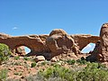 Arches NP, North and South Window - panoramio.jpg