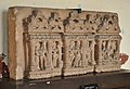 Architectural Fragment with Divine Figures - Circa 10th Century CE - ACCN 74-10 - Government Museum - Mathura 2013-02-23 5002.JPG