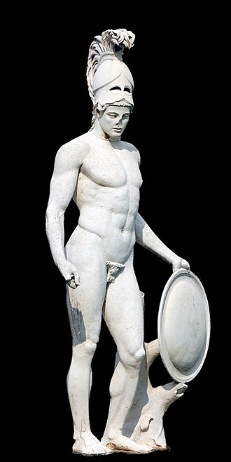 Ares - Statue of Ares from Hadrian's Villa
