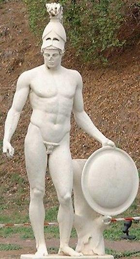 Ares villa Hadriana