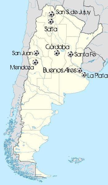Argentina2011Sedes