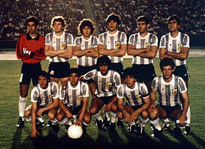 Argentina national under-20 football team - The team that won its first championship in 1979.