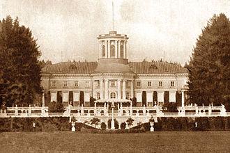 Felix Yusupov - The family estate near Moscow; Arkhangelskoye Palace