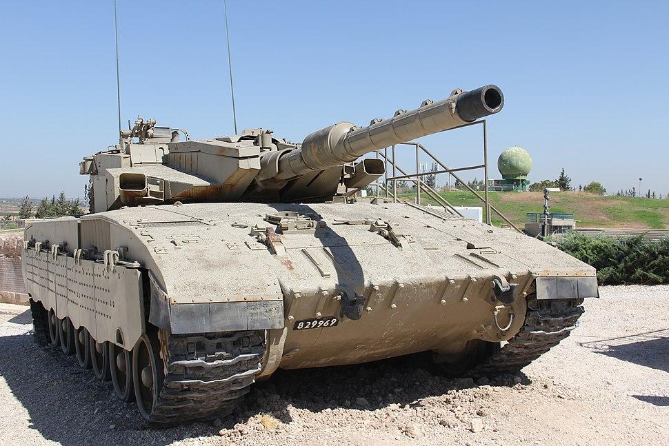 Armored Corps Tank Latrun