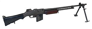 Automatic rifle - M1918A2 Browning Automatic Rifle