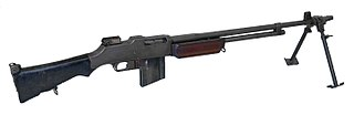 M1918 Browning Automatic Rifle light machine gun