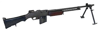 Light machine gun - .30-06 Browning Automatic Rifle Model 1918
