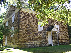 National Register of Historic Places listings in Burlington County, New Jersey - Image: Arney's Mount Friends Meetinghouse & Burial Ground (2)