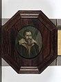 Arnoud van Halen - Portret van Dominicus Baudius (1561-1613). Hoogleraar in de welsprekendheid, de geschiedenis en de rechten te Leiden - B1757 - Rijksmuseum.jpg