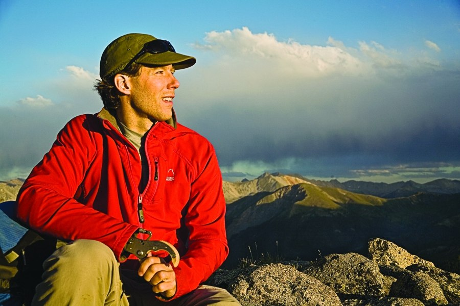 Aron Ralston on Independence Pass