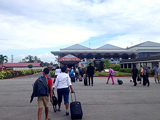 Cheddi Jagan International Airport - Passengers arrive at Cheddi Jagan International Airport. July 2014