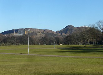 Burgh Muir - Arthur's Seat seen from the old Burgh Muir
