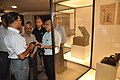 Arun Goel With NCSM Dignitaries Visit Objects In CRTL Archive Exhibition - NCSM - Kolkata 2018-09-23 4449.JPG
