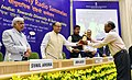 """Arun Jaitley presented the National Community Radio Awards, at the 6th National Community Radio Sammelan, on the theme """"Community Radio in India Towards Diversity and Sustainability"""", in New Delhi.jpg"""