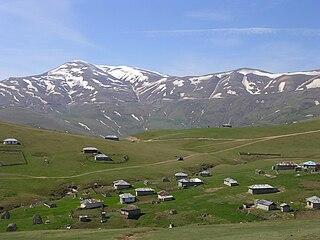 Asalem City in Gilan, Iran