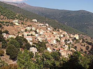 Asco, Haute-Corse - A general view of Asco