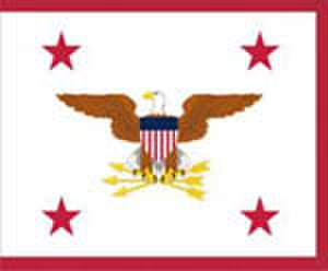 United States Assistant Secretary of Defense - Flag of an Assistant Secretary of Defense.