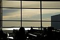 At JFK waiting for our flight (8236445816).jpg