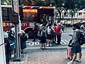 At a Bus Stop in Downtown Taichung.jpg
