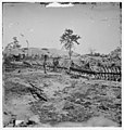 Atlanta, Georgia. Confederate fortifications (Shown is George N. Barnard, photographer and his dark room) LOC 6056604271.jpg