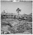 Atlanta, Georgia. Confederate fortifications (Shown is George N. Barnard, photographer and his dark room) LOC 6056604271.jpg