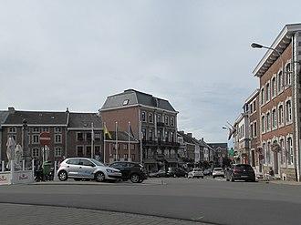 Aubel - Image: Aubel, straatzicht foto 1 2011 09 10 16.29