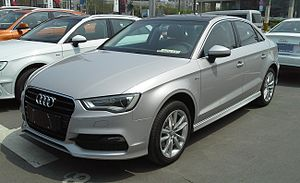 FAW-Volkswagen - Image: Audi A3 8V sedan 01 China 2014 04 14