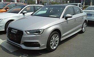 FAW-Volkswagen - Image: Audi A3 8V sedan 01 China 2014 04 14