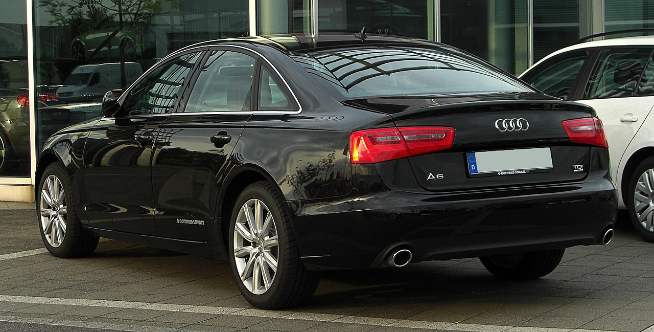 file audi a6 3 0 tdi quattro c7 heckansicht 13 mai. Black Bedroom Furniture Sets. Home Design Ideas