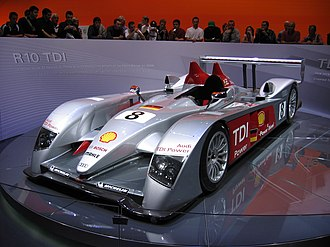 2006 Paris Motor Show - Audi R10 TDI at Paris 2006
