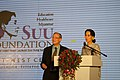Aung San Suu Kyi at the Suu Foundation Launch (13037715624).jpg