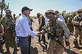 Australian Prime Minister greets U.S. Marines, Australian service members 150711-M-WM612-311.jpg