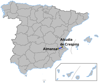 Autovía A-35 road in Spain