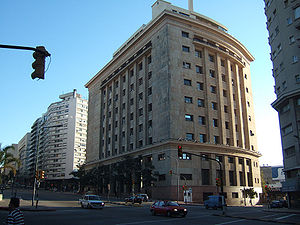English: Libertador Avenue, Montevideo, Urugua...