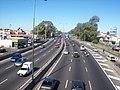 Avenida General Paz en Liniers hacia el sur.jpg