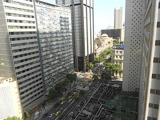 Avenida Rio Branco avenue in Rio de Janeiro