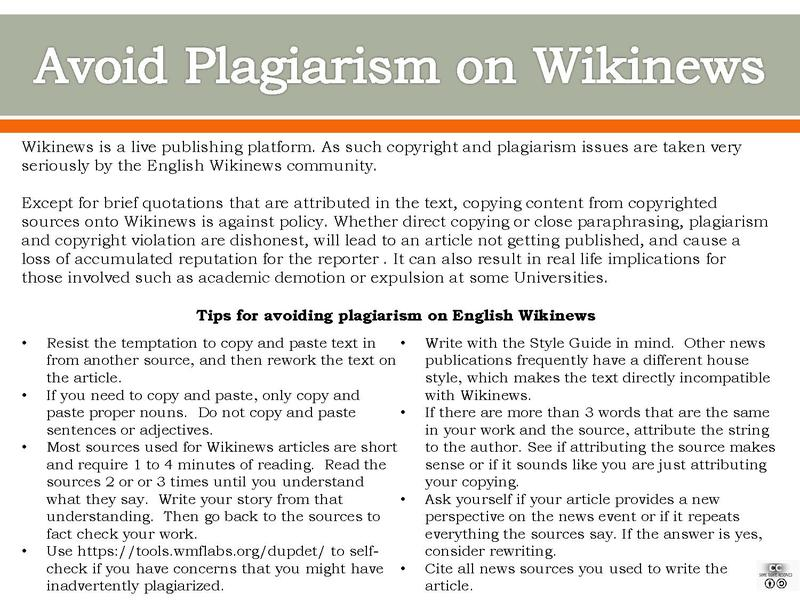 File:Avoid Plagiarism on Wikinews.pdf