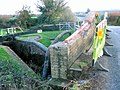 Aylesbury Arm - Damage to Dixon's Gap Bridge after accident - geograph.org.uk - 1594216.jpg