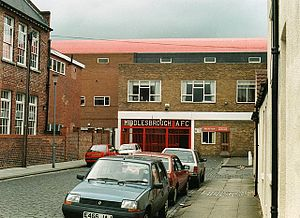 Ayresome Park - Ayresome Park main entrance