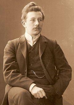 En ung Fredrik Bøøk