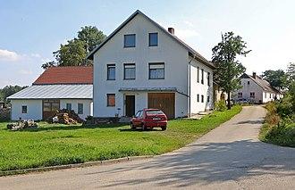 Bělá (Pelhřimov District) - Image: Bělá (PH), house No 24