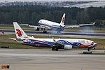 B-5422 - Air China - Boeing 737-89L(WL) - Phoenix Livery - PEK (14336469306).jpg