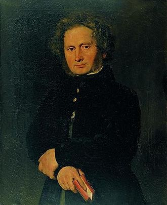 Bernhard Severin Ingemann - Bernhard Severin Ingemann painted by Christian Albrecht Jensen in 1844