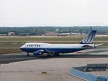 Un Boeing 747-400 al Frankfurt Airport