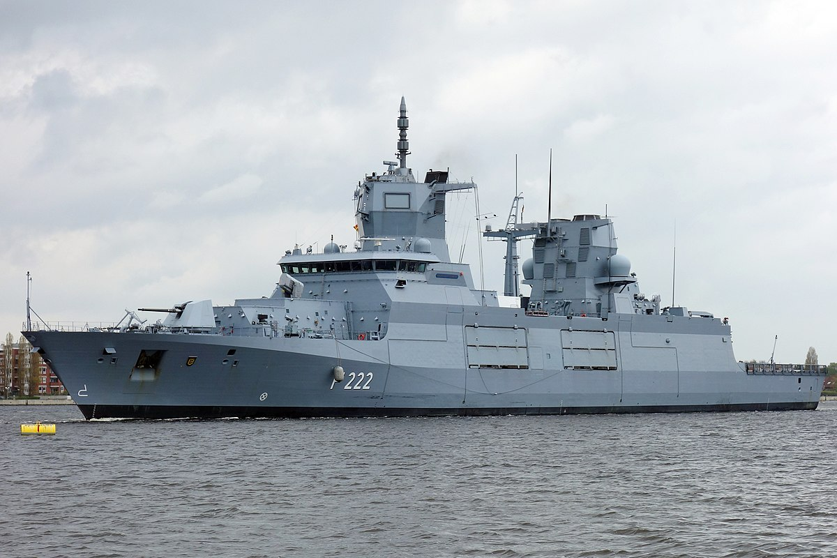Baden w rttemberg class frigate wikipedia for Daamen interieur