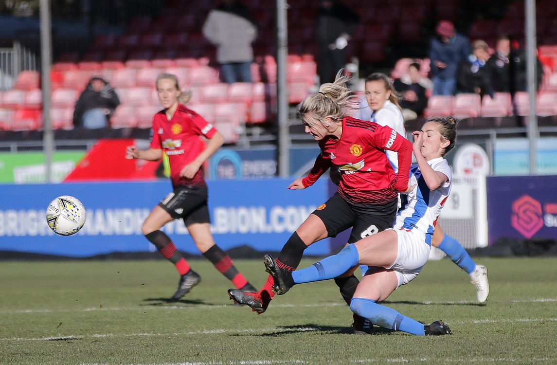 BHA Women 0 Man Utd Women 2 WFAC 4th rd 03 02 2019-1337 (46934316672).jpg