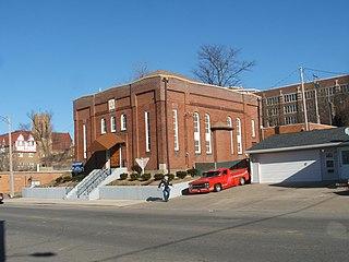 Bnai Jacob Synagogue (Ottumwa, Iowa) United States historic place