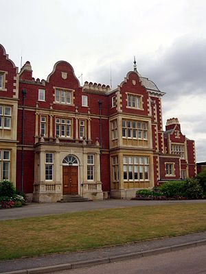 Babraham Institute - Front of Babraham Hall