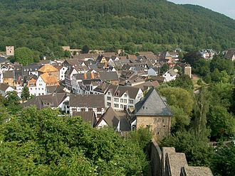 Bad Münstereifel - View of the town